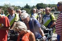 Cyklistická vyjížďka připomíná barona Battagliu