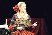 Gabriela Filippi, herečka a zakladatelka Léčivého divadla.