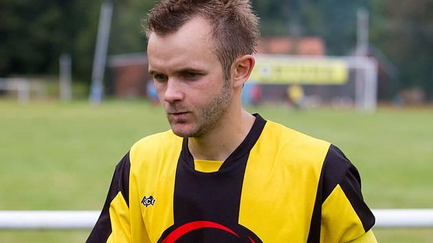 Kapitán FC ZVVZ Radek Fiala.