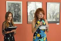 Vernisáž výstavy obrazů Anatolije Jevsejenka
