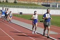 Na atletickém stadionu v Písku se běžel závod mužů na 10 000 metrů a závod žen na 5000 metrů.