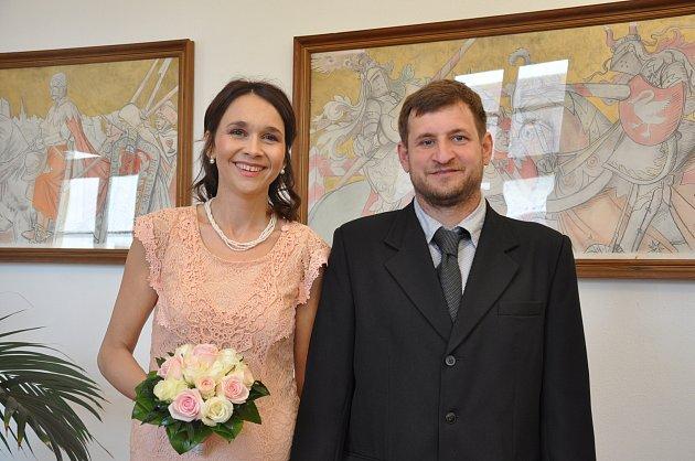 Petra Škopová a Michal Novák ze Strakonic si řekli ANO.