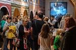 V písecké Sladovně otevřeli nové výstavy.