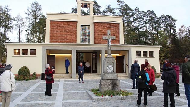 Hřbitovní kaple v Protivíně.