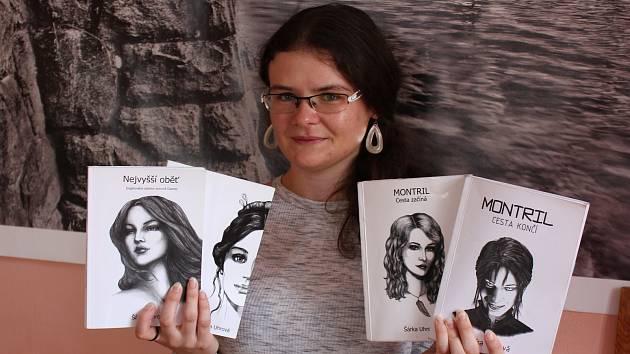 Spisovatelka Šárka Uhrová