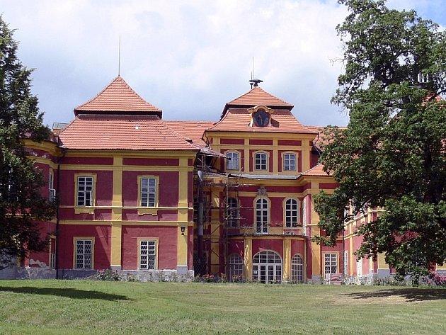 Čimelice (zámek) - ilustrační foto.