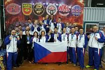 Písečtí kickboxeři přivezli medaile z MS.