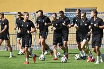Písečtí fotbalisté už trénují na novou sezonu.