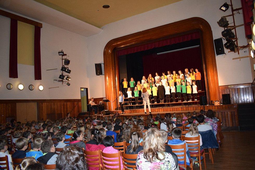 Výměnný koncert dětských pěveckých sborů v Milevsku.