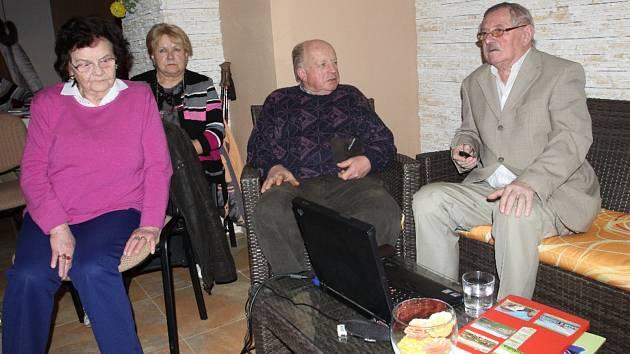 Beseda Protivínského vlastivědného klubu.