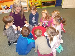 Děti v MŠ Kestřany