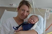 Pavel Kápl zPísku. Prvorozený syn Veroniky Hynoušové a Pavla Kápla se narodil 30. 4. 2018 ve 20.59 hodin, při porodu vážil 4000 g a měřil 53 cm.