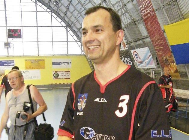 Petr Pechek (na snímku) nebude na červencové členské schůzi IHC Písek – občanského sdružení znovu kandidovat na post šéfa klubu.