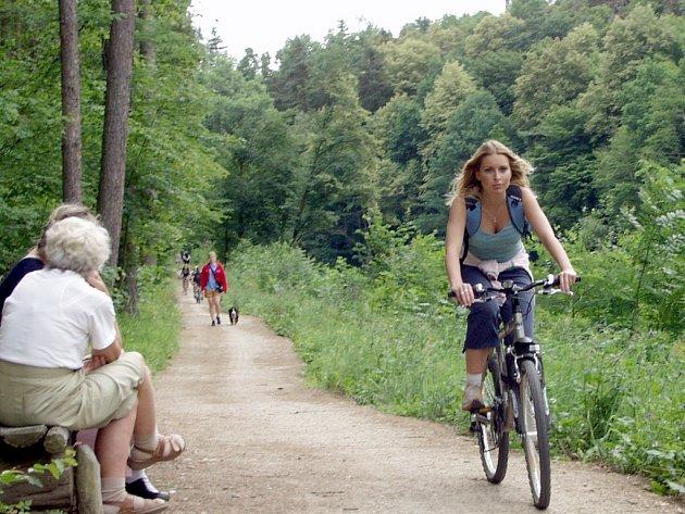 SEDLÁČKOVA STEZKA. Mezi cyklisty, ale i pěšími turisty se stává spojnice mezi Pískem a Zvíkovem stále vyhledávanější lokalitou pro aktivní odpočinek.