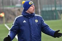 Trenér třetiligového celku FC Písek Milan Nousek mladší.