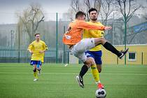 Fotbalisté U19 poprvé na jaře bodovali