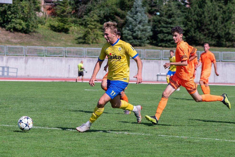 FC Písek U19 - FC Rokycany U19 5:1 (4:1).