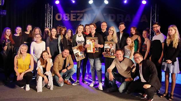Účastníci soutěže Oběžná dráha 2019.