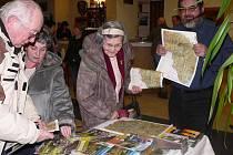 O propagační materiály na téma Šumava byl mezi návštěvníky značný zájem.