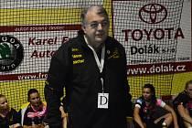 Předseda házenkářek Sokola Písek Rudolf Žaba hodnotí povedený podzim interligového týmu z jihu Čech.