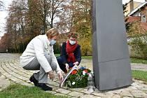 Připomínka válečných veteránů byla letos bez veřejnosti.