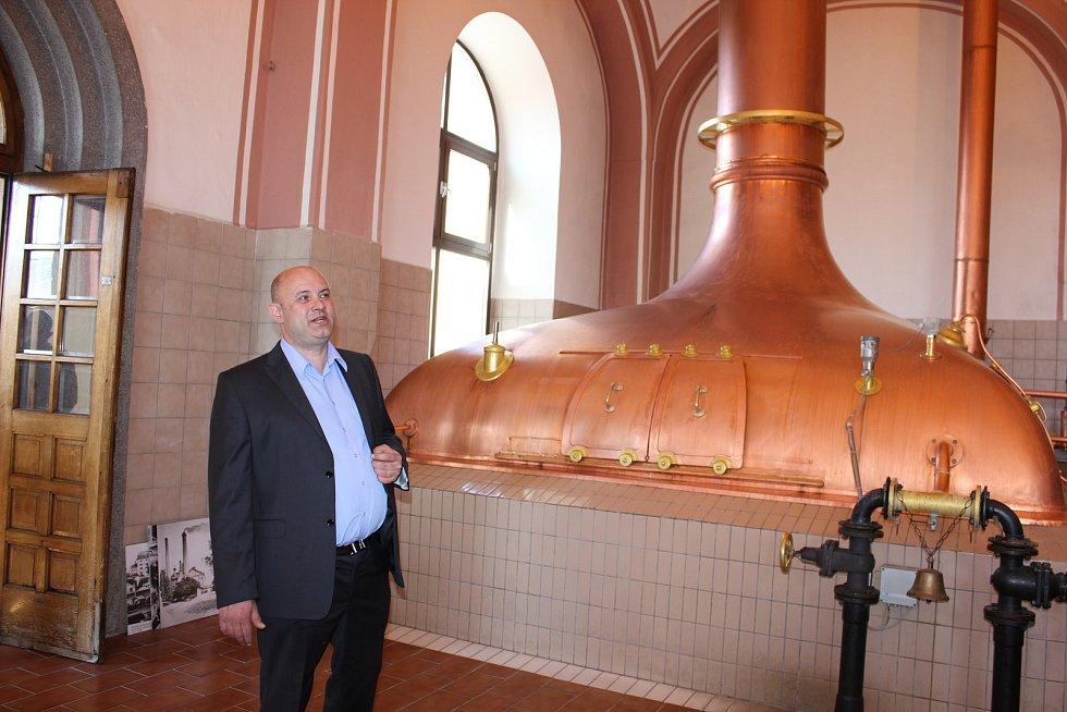 Pivovar v Protivíně. Varna, ve které se vaří pivo 90 let.