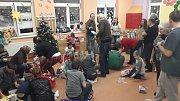 Vánoční besídka v Krtečku.