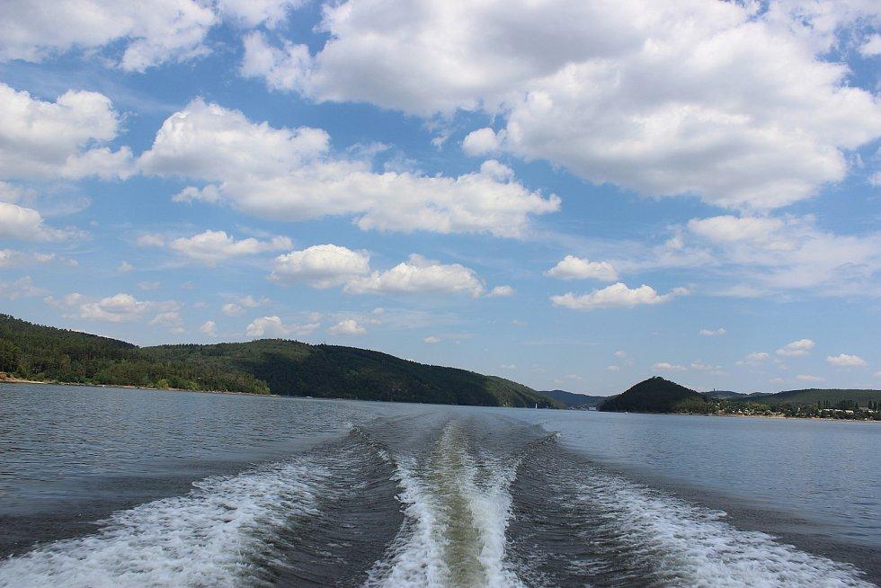 Lodní doprava na Orlíku. Ilustrační foto.