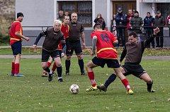 Střetnutí okresního přeboru mezi kestřanským béčkem a Milenovicemi rozhodl jediný gól.