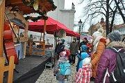 Vánoční trhy.