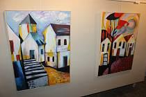 Výstava Snový svět výtvarnic Evy a Jany Ďurčových v Galerii M.