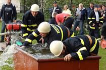 Hasičská soutěž v Oslově.