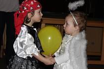 Dětský karneval v Ražicích.