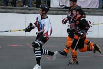 Ani ve druhém střetnutí letošní sezony 2. NHbL Jih neuspěli hokejbalisté HC ŠD Písek s týmem TJ Stars Suché Vrbné. Tentokrát podlehli na jeho hřišti 2:4.
