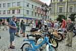 Městské slavnosti Dotkni se Písku patřilo také Alšovo náměstí.