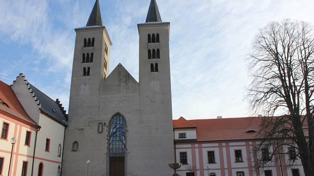 Milevský premonstrátský klášter. Ilustrační foto