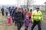 Novoroční pochod v Oslově.