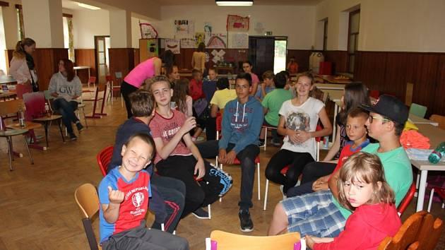 Dětský tábor u Varvažova.