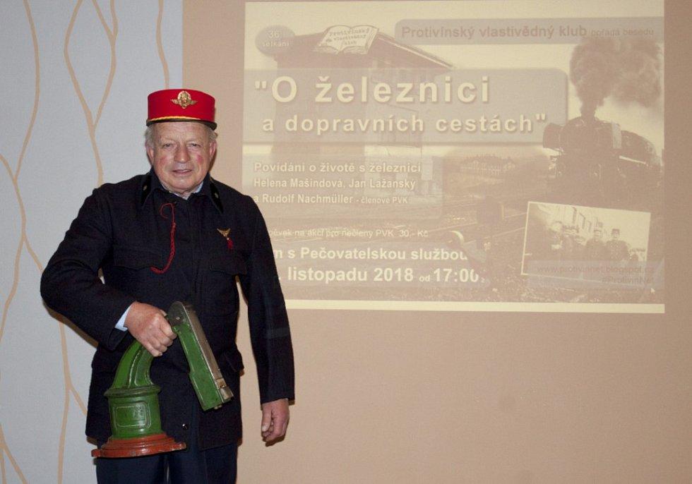 O železnici a dopravních cestách v Protivíně.
