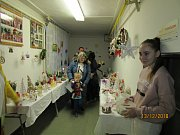 Předvánoční tvořivé dílničky v mateřské škole v Čimelicích.