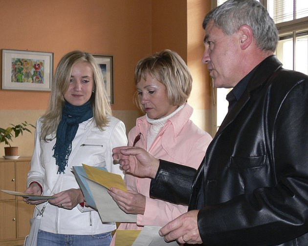 Miroslav Krejča s manželkou Janou a dcerou Eliškou