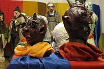 VÝSTAVA.  Jedna z postaviček, které  uvidí návštěvníci únorové výstavy strašidel a pohádkových bytostí v galerii Portyč v Písku.
