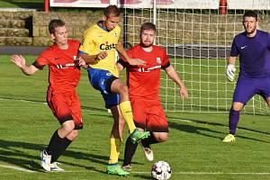 MFK Dobříš – FC Písek 0:2 (0:1).