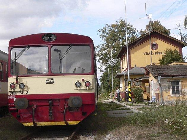 Také nádraží Vráž u Písku zůstane bez personálu