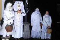 Barborky obcházely Borovany na Písecku.