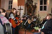 Vánoční koncert v Záhoří.
