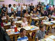 Začátek školního roku v II. ZŠ J. A. Komenského v Milevsku.