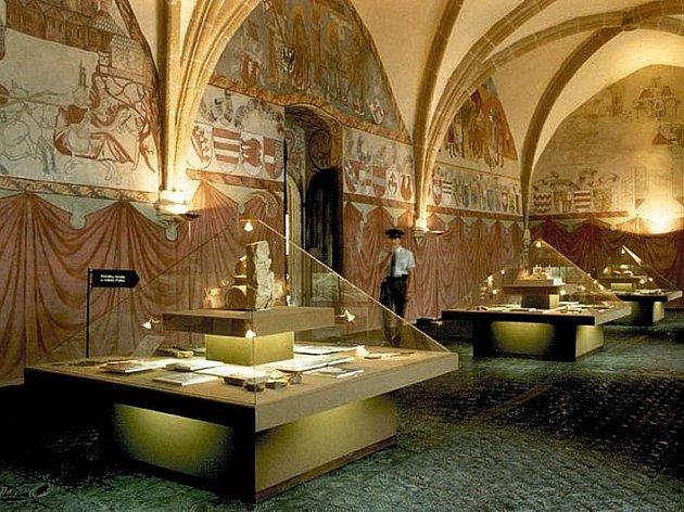 Prácheňské muzeum v Písku, Rytířský sál.