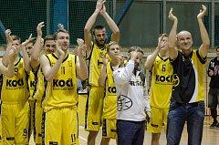 Písečtí basketbalisté si zahrají čtvrtfinále play-off. Sršni se utkají s Litoměřickým Slavojem.