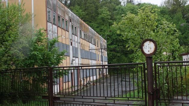 Bývalý areál Tesly v Mirovicích.